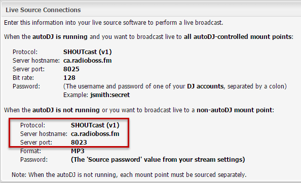 radioboss fm | Setting up encoder in RadioBOSS (Shoutcast